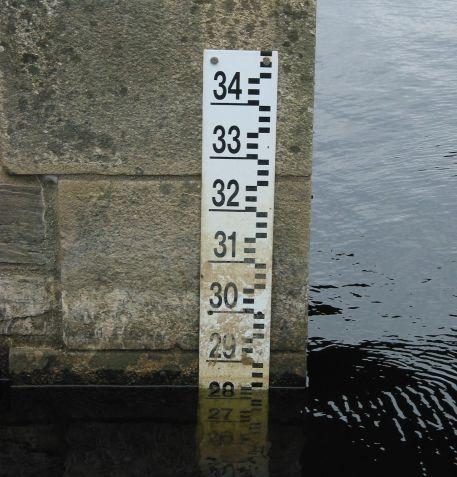 Suivis : les niveaux d'eau en amont de Nantes