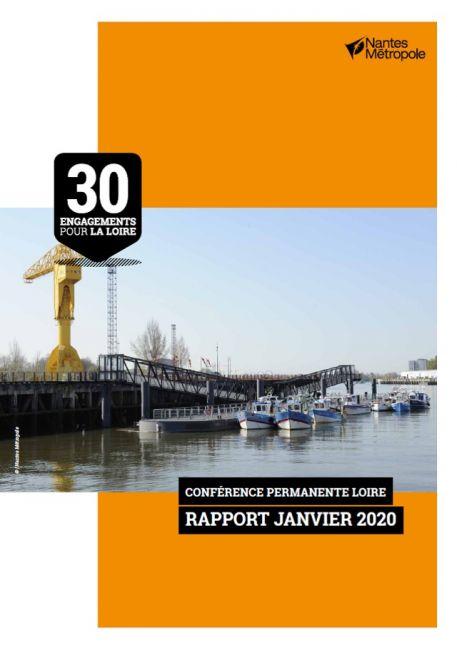 """""""30 Engagements pour la Loire"""": le GIP Loire Estuaire évoqué dans le """"Rapport Janvier 2020"""""""