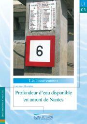 L1.C3 - Profondeur d'eau disponible en amont de Nantes (2003)