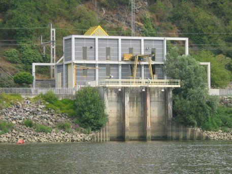 Station de pompage en Loire pour l'alimentation en eau potable