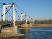 Pont reliant Champtocé-sur-Loire (49) et Montjean-sur-Loire (49) - RD15