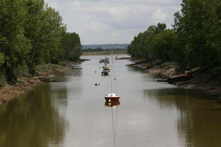 Percée de Buzay joignant la Loire au canal maritime dit de la Martinière