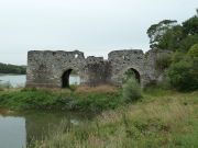 La Loire en étiage au Cul du Moulin