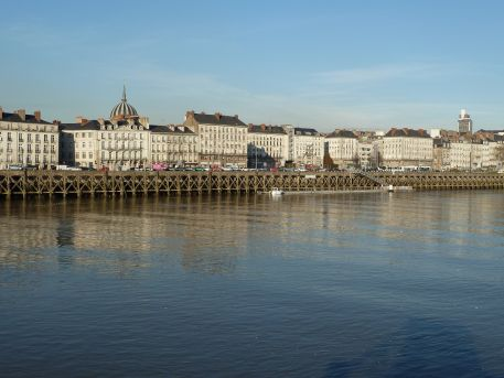 La Loire et ses quais à Nantes