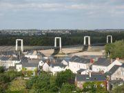 La Loire en étiage à Montjean-sur-Loire
