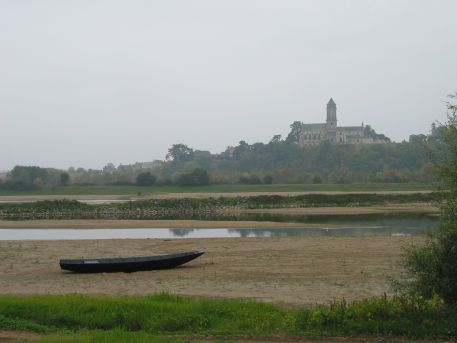 La Loire en étiage à Saint-Florent-le-Vieil