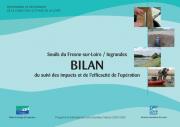 Bilan du suivi des impacts et de l'efficacité de l'opération des seuils du Fresne-sur-Loire / Ingrandes, 2007