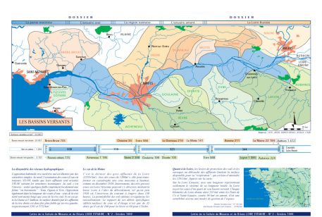Les bassins versants (dossier Lettre 2, octobre 1999)