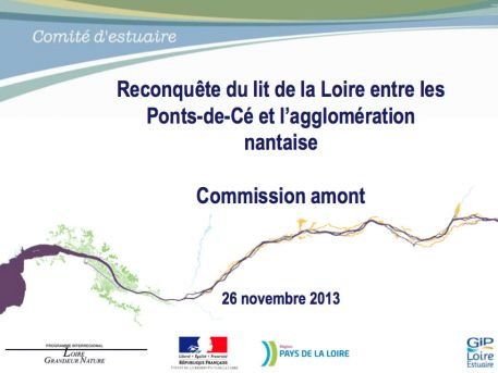 Commission amont du 26 novembre 2013