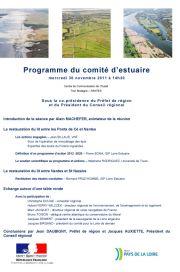Comité d'estuaire du 30 novembre 2011